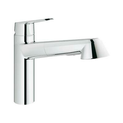 Cosmopolitan Kitchen Faucet GROHE StarLight Chrome Modern Pull-Out Single-Handle