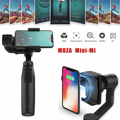 Moza Mini-Mi 3-Axis Handheld Gimbal Stabilizer Wireless Chargeable for Cellphone