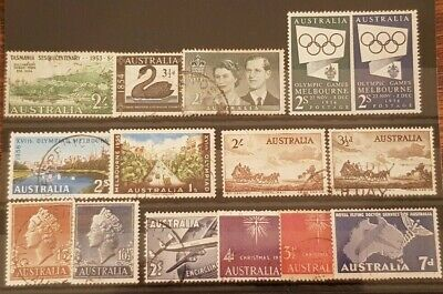 AUSTRALIA - Selection of USED Pre-Decimal Stamps