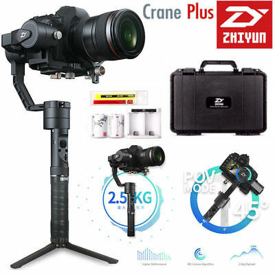 2018 Zhiyun Crane Plus 360° 3-Axis Handheld Gimbal Stabilizer for DSLR Mirrorles