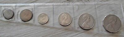 1970 Australian Coin Set with Captain Cook 50 cent coin