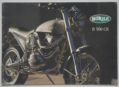Catalogue Moto BORILE B500CR Café Racer 1999
