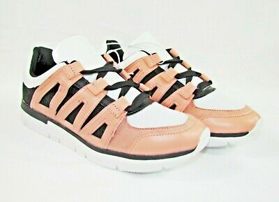 9075aaa2fd5bc A NEW DAY Womens Blush Pink Whitney Sneakers Three Strap NEW Shoes ...
