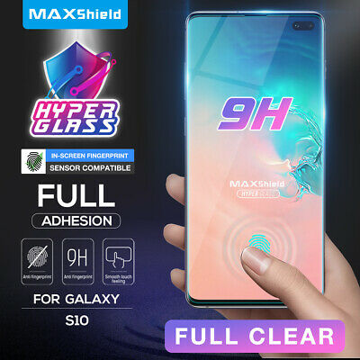 Galaxy S10 S10+ Plus S9 S8 Plus Case Friendly Tempered Glass Screen Protector