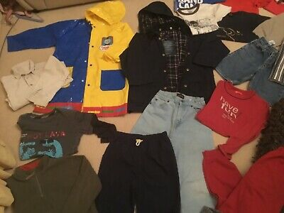Lot bulk 22 boys size 6 winter jacket  spring clothes