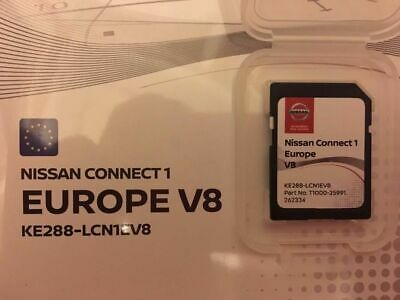 New!!!! Nissan Connect 1 Latest Sat Nav  Lcn1 Sd Card V8 2018 Maps