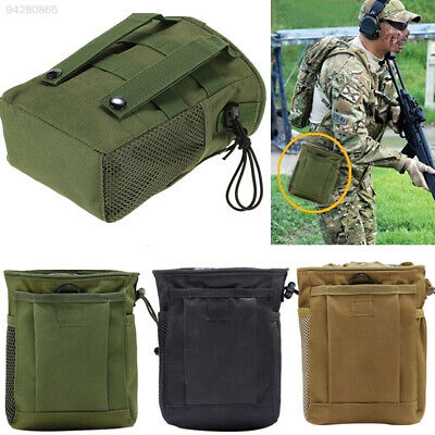 Hunting Hiking Military Molle Belt Tactical Magazine Dump Utility Pouch Bags Gym