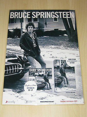 BRUCE SPRINGSTEEN - Chapter And Verse - Born To Run -  Laminated Promo Poster