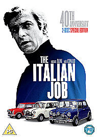 The Italian Job 40th Anniversary 2-Disc Special Edition Dvd Michael Caine Sealed