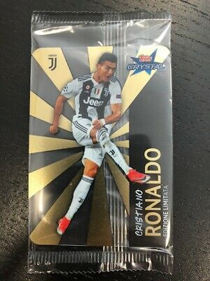 Cristiano Ronaldo Limited Edition Cristal Card Rara Nuova New