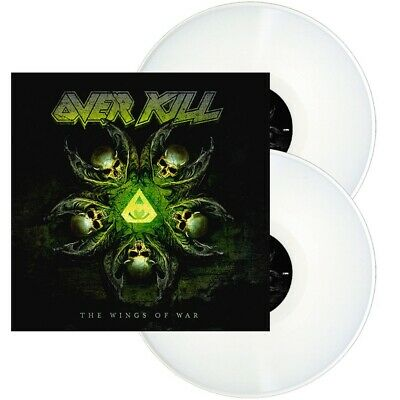 OVERKILL - The wings of war - 2LP - White