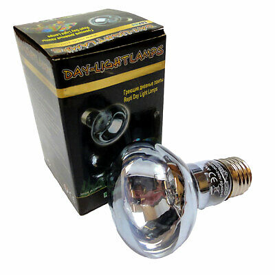 100W Daylight Reptile Bulb - UVA - ES - Pack of 6 or Pack of 12