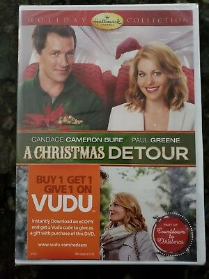 A Christmas Detour (Dvd,2015)(NEW)(Candace Bure, Paul Greene)