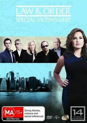 Law And Order SVU - Special Victims Unit : Season 14 : NEW DVD