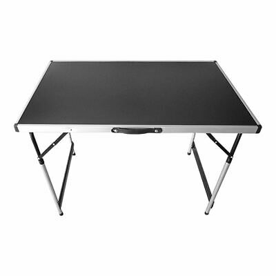 Aluminium Folding Table Party Camping Easy Carry Bbq Kitchen Heavy Duty New
