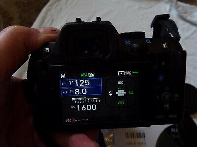 Pentax K-S2 Slr Digital Camera 2 Years Old Good Condition Has Light Issue