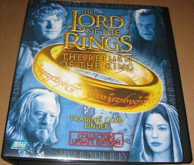 Lord of the Rings RotK Update Edition Trading Card Binder & Base set