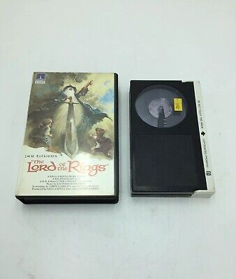 Vintage Betamax Video Cassette Tape - The Lord of the Rings - 1978.