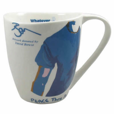 David Bowie 'Whatever It Takes' Peace Thru Art Tea Mug