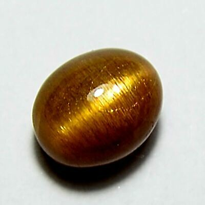 2.50 Ct 100%Natural Cat's Eye Sunstone Oval Cabochon Gemstone Free Shipping