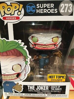 Batman Vinyl-FUN37487 US Exclusive Pop Joker Death of the Family