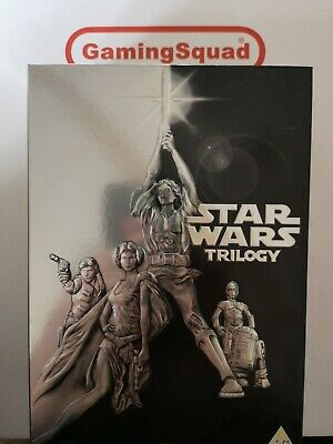 Star Wars Trilogy Box Set DVD, Supplied by Gaming Squad