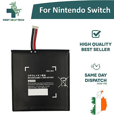 Replacement Genuine Battery For Nintendo Switch Console 4310mAh 3.7V HAC-003 New