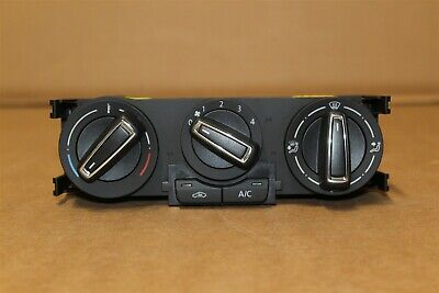 VW POLO 15-18 Heater control Panel with Chrome 6C0820045G  New Genuine VW part