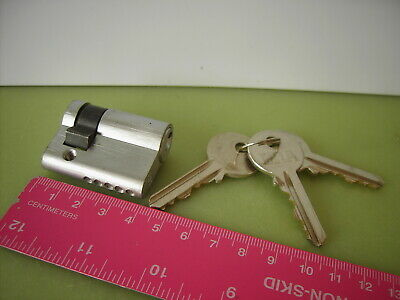 ERA 5 Pin Single Cylinder Lock 40mm 30/10 Satin Chrome & 3 Keys