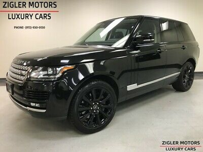 2014 Range Rover One Owner V8 Supercharged Clean Carfax Blind Spot Backup Cam 2014 Land Rover Range Rover One Owner 46,471 Miles