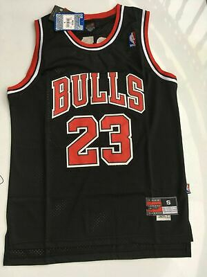 2019 Nba Michael #23 Jordan Chicago Bulls Swingman Jersey T-Shirt Black