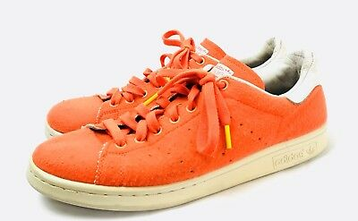 new concept 7040a eaad1 Adidas Stan Smith Pharrell Williams Tennis Ball Sneakers Orange PW B25388  Shoes