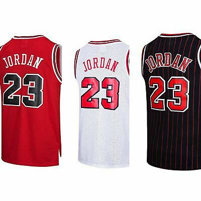 17408e633 BRAND NEW NBA Jersey Michael Jordan  23 Chicago Bulls Retro Black UK ...