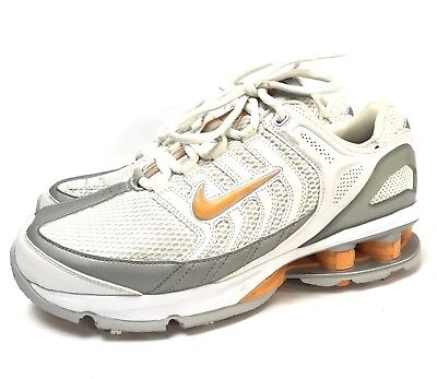 new concept 3750a 77c51 NWOB Vintage 2006 Nike Shox Womens Size 7.5 US Golf Cleats Shoes 314901-181   150