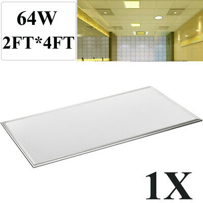 2X 64W 2FT*4FT LED Troffer Panel Light Recessed Dropped