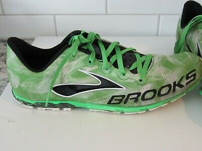1df832ed0bf BROOKS MEN S GREEN Featherlite Mach 15 Racing Track XC Shoes ...