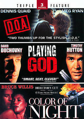 Color of Night & Playing God + D.O.A. - Triple Feature DVD, Angelina Jolie, Davi