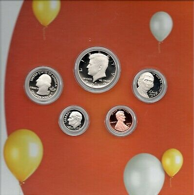 2019 Happy Birthday US Mint Coin Set S Proof 5 US Coins CN-Clad