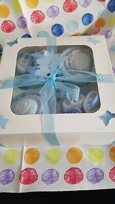 "Unusual  Pink New Baby Girl  Personalised  box /"" A baby is an Angel/"" #8"