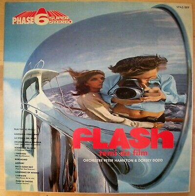 Flash Temi Da Film Vpas 889 Vinile Lp 33 Giri Nm Near Mint Rarissimo Come Nuovo