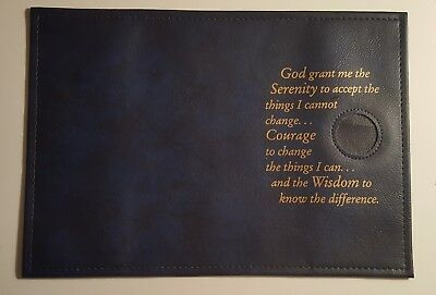 Big Book Cover with Serenity Prayer Black