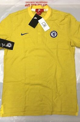 77beff18872 Nike Authentic Chelsea Grand Slam Mens Football Polo Shirt Training Top  Bnwt Med