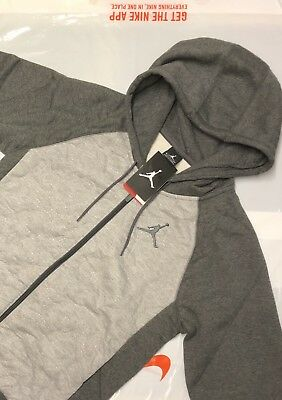 NIKE AIR JORDAN JUMPMAN Full Zip HOODIE JACKET BRAND NEW WITH TAGS Small