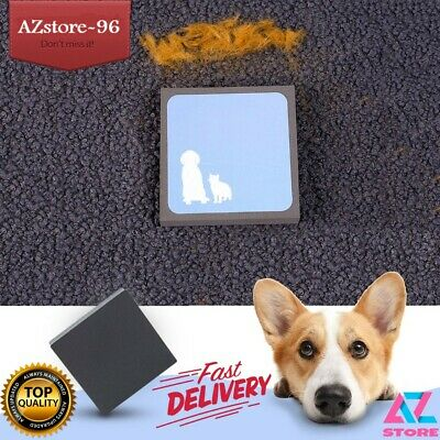 Magic Fur Sponge Pet Hair Cleaning Brush Square Hair Remover Cleaning Tool