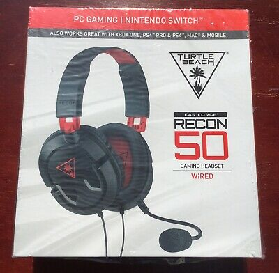 8aa497b8b42 NIB TURTLE BEACH Recon 50 Stereo Gaming Headset for Nintendo Switch ...
