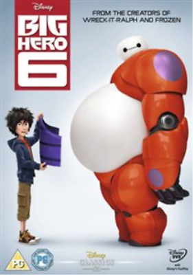 Big Hero 6 DVD NUOVO