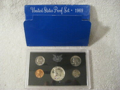 1969-S Proof Set United States US Mint Original Government Packaging Box Free SP