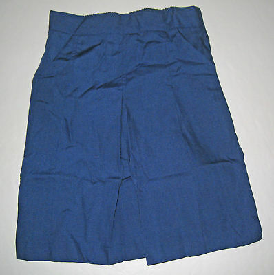 NEW Girl school uniform Skort Culotte Royal Sz 5 to 16