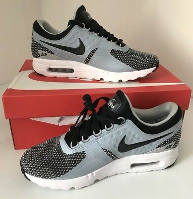 1b78b01d8af0 Nike Air Max Zero Essential Trainers UK Size 7 Wolf Grey   Black 876070 002