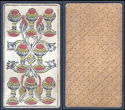 Tarot - Original 18th century playing card / Spielkarte carte a jouer